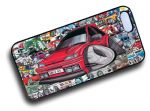 Koolart STICKERBOMB STYLE Design For Retro Mk3 Ford Fiesta RS Turbo RST Hard Case Cover Fits Apple iPhone 5 & 5s
